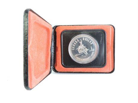 1975 Canadian Calgary Centennial $1 Specimen Silver Dollar (233941C)