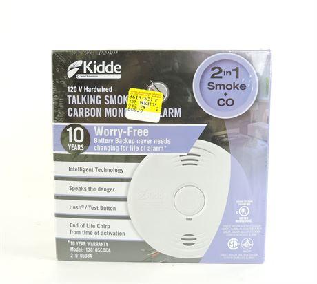 Kidde 2-in-1 Talking Smoke & Carbon Monoxide Alarm (New)  (236014H)