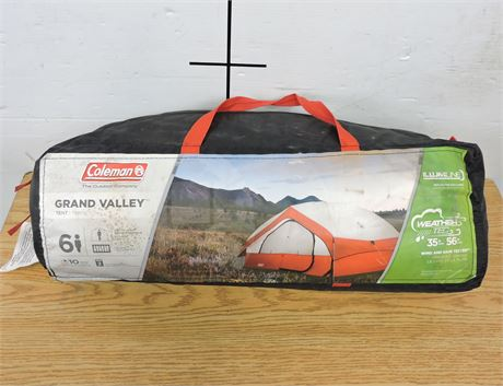 Coleman 6 Person Grand Valley Tent with Storage Bag (238756H)