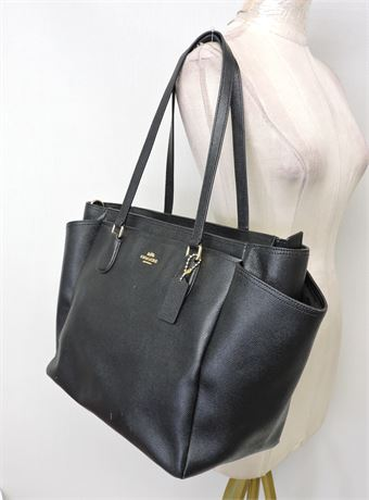 Coach Pebbled Leather Diaper/Tote Bag  (236119L)