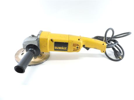 """DeWalt DW840 13A Corded 7"""" Angle Grinder w/Double Row Grinding Wheel (242674A)"""