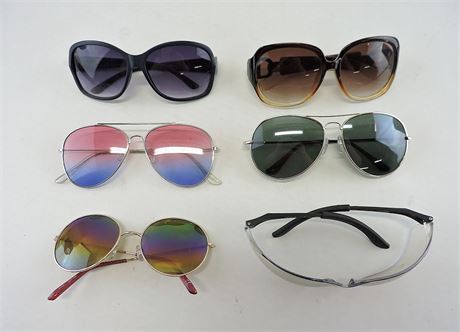 Lot of Assorted 6 Fashion Sunglasses (232674L)