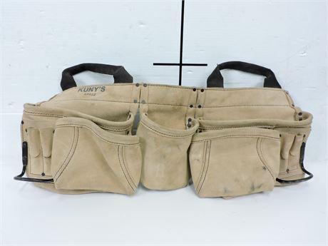 Kuny's AP622 Leather Tool Belt (238980A)