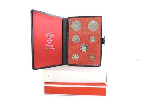 1971 British Columbia Centennial 7-Piece Coin Set  (241773C)