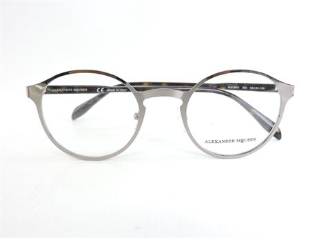 "Unisex Alexander McQueen""AM0166O"" Eyeglasses  (230833L)"