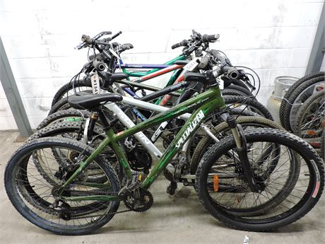 Lot of 7 Assorted Used Bikes (235252D)