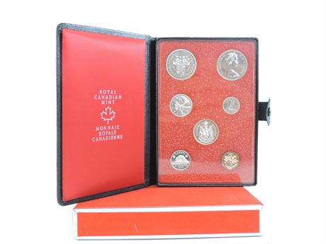 1971 British Columbia Centennial 7-Piece Coin Set  (241768C)