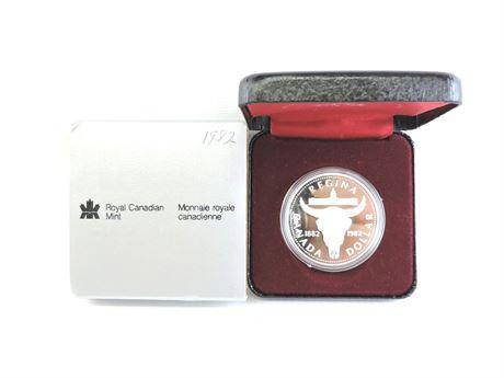 1982 Regina Centennial Commemorative Dollar Coin (234726C)