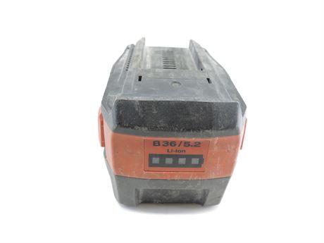 Hilti B36/5.2 36V CPC Li-Ion Battery Pack (241673A)