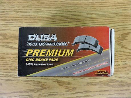 Dura International D856P Premium Disc Brake Pads (New) (236653A)