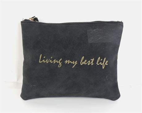 Graphic Cosmetic Zip Pouch (238670L)
